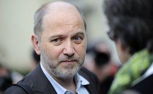 Le député Denis Baupin (EELV) à Nantes le 18 septembre 2012.