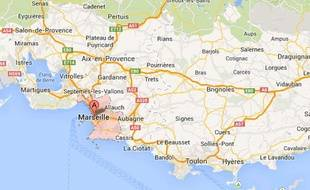 Marseille, dans les Bouches-du-Rhône.
