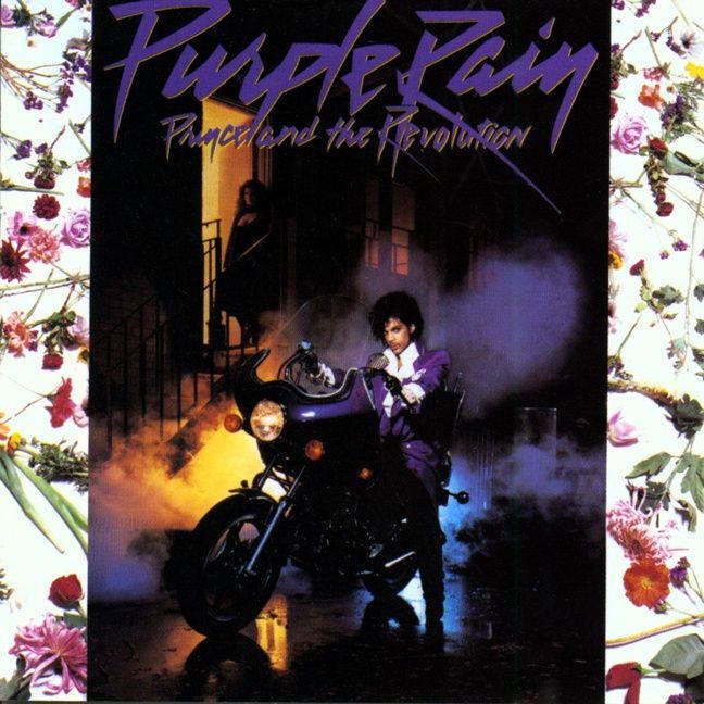 Pochette de l'album «Purple Rain».