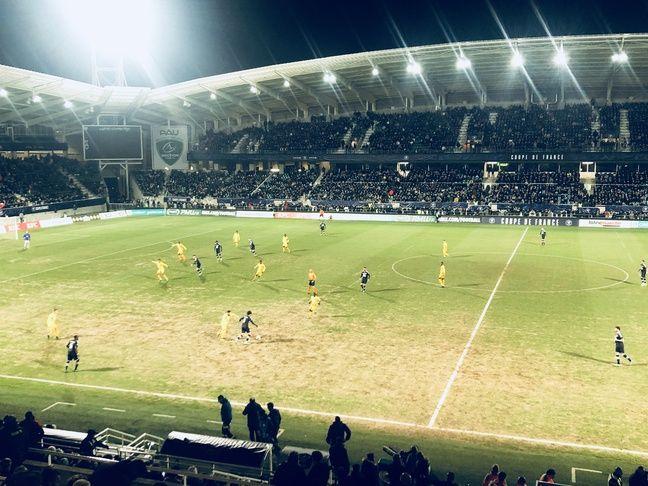 15.000 spectateurs ont assisté à l'exploit du FC Pau.