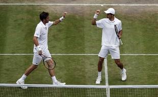 nicolas Mahut et Pierre-Hugues Herbert en finale à Wimbledon