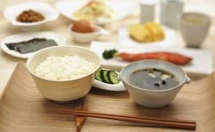 Plats traditionnels japonais.