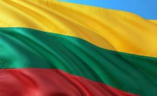 Le drapeau lituanien (illustration).