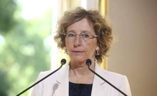 Muriel Penicaud, le 31/08/2017. AP Photo/Thibault Camus