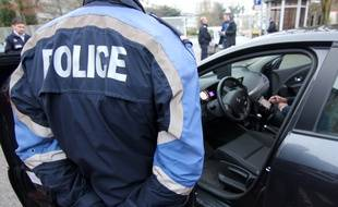 Illustration d'une intervention de la police, ici à Rennes.