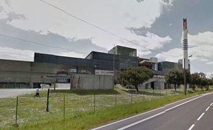 L'usine Arc en ciel, à Couëron.