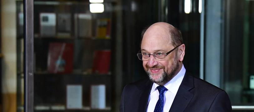 Martin Schulz, le 13 février 2018.