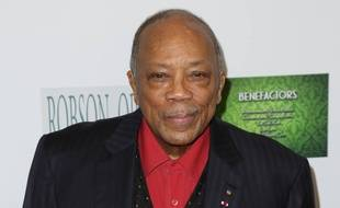 Le producteur Quincy Jones