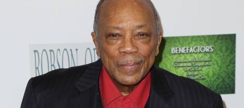 Le producteur Quincy Jones