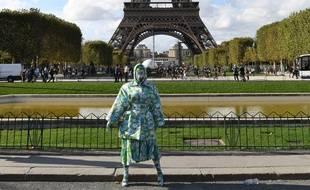 La rappeuse Cardi B à Paris le 28 septembre 2019.