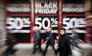 """""""Black Friday"""" à Londres, le 27 novembre 2015"""