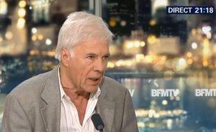Guy Bedos sur BFM TV le 2 juillet 2015.