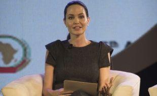 Angelina Jolie, le 12 juin 2015, à Johannesburg.