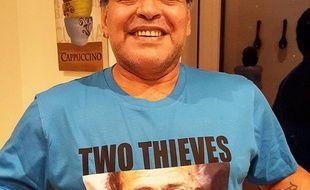 Diego Maradona, où peut-on trouve ce magnifique tee-shirt?