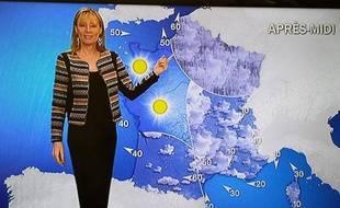 La carte météo du vendredi 10 janvier 2014