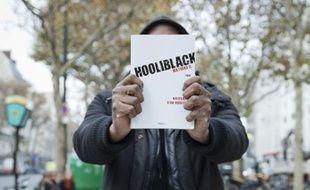 """Mathias C, auteur du livre """"Hooliblack"""", le 18 novembre à Paris."""
