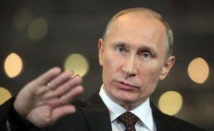 Vladimir Poutine à Moscou, le 15 décembre 2011.