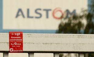 Petite-Forêt, le 13 octobre 2010. 150 ouvriers de l'usine Alstom ont voté ce matin la grève reconductible pour protester contre le passage de l'âge légal de la retraite à 62 ans.