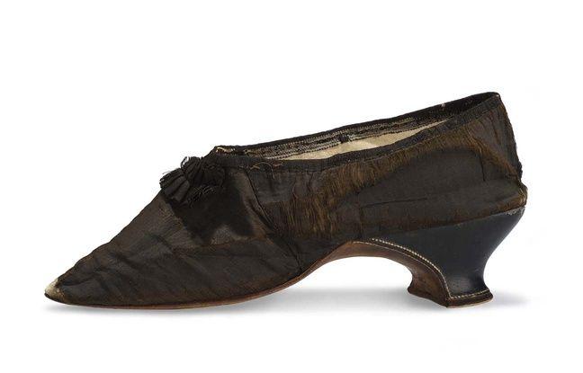 Le petit soulier de Marie-Antoinette.