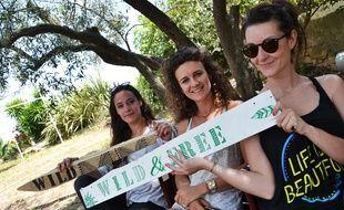 Claire, Clara et Lucile ont créé le festival Wild Summer.