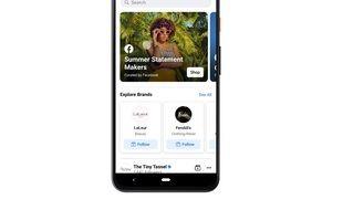 Facebook intègre un nouvel onglet dédié au shopping