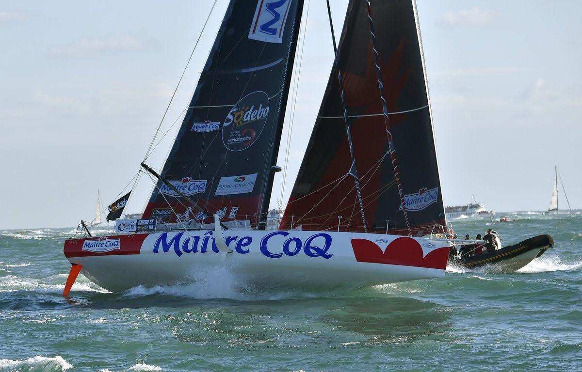 Jérémie Beyou est troisième du Vendée Globe – LOIC VENANCE / AFP