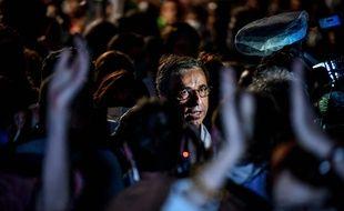 Pierre Hurmic, le soir de sa victoire au second tour des municipales à Bordeaux, le 28 juin 2020.