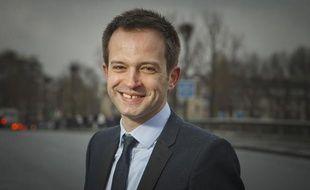 Pierre-Yves Bournazel candidat UMP à la mairie de Paris en 2014, le 15 janvier 2013.