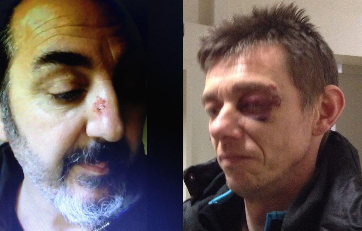 Deux des sept agresseurs présumés de migrants à Loon-Plage. – DR