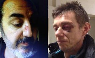 Deux des sept agresseurs présumés de migrants à Loon-Plage.