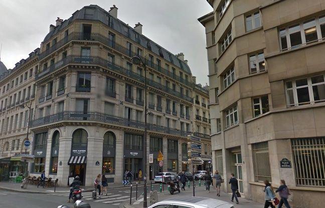 Le 26, rue de la Banque à Paris (2e).