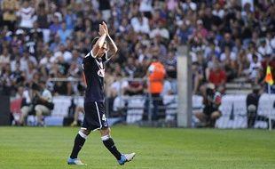 Le Bordelais Ludovic Obraniak face à Rennes, le 19 août 2012
