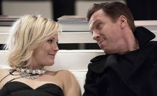Malin Åkerman et Damian Lewis jouent les maris et femmes dans «Billions».