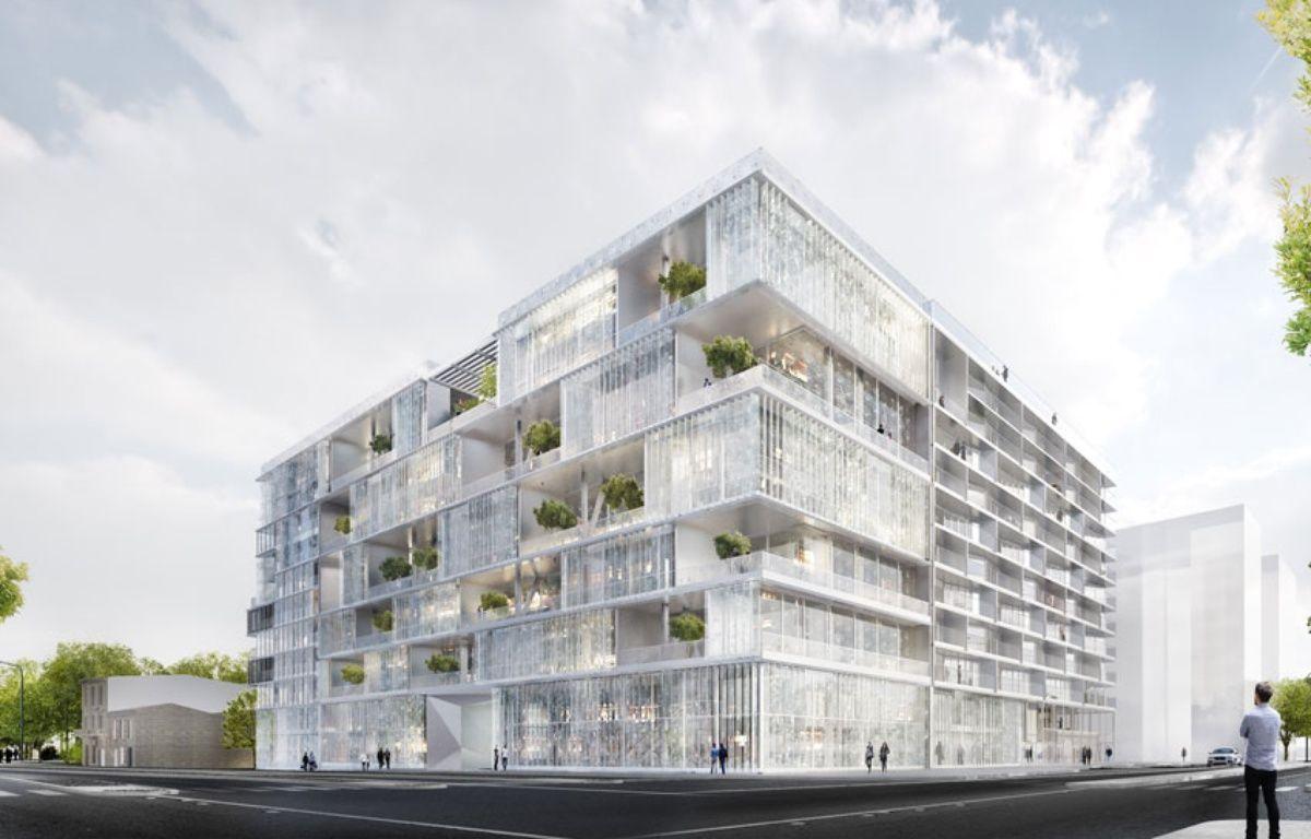 Le bâtiment de Clairsienne sur le périmètre de Bordeaux-Euratlantique accueillera des logements et des bureaux – Clairsienne