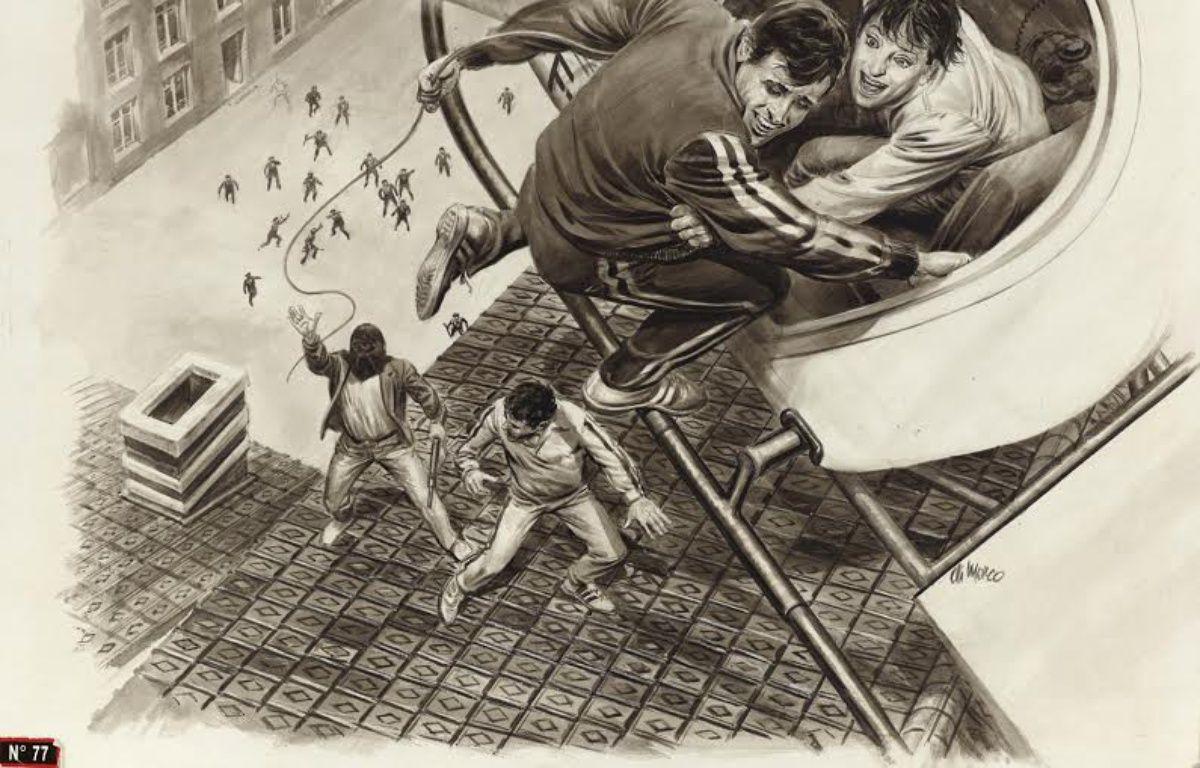 «Nadine Vaujour, l'amour donne des ailes», illustration parue dans «L'Evénement du jeudi». – Angelo DI MARCO