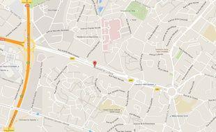 Le radar contrôlera la vitesse du boulevard de La Baule à Saint-Herblain.