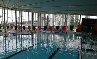 A la piscine de Hautepierre (illustration).
