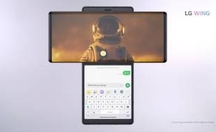 LG introduit un smartphone au design complètement fou