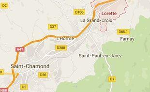 A Lorette, dans la Vallée du Gier, dans la Loire.