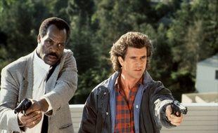 Danny Glover et Mel Gibson dans «L'Arme fatale», en 1987.