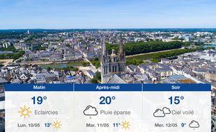 Météo Angers: Prévisions du dimanche 9 mai 2021