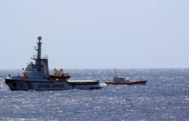 Naufrage en Méditerranée: L'Espagne prête à accueillir lune partie des migrants de l'Open Arms