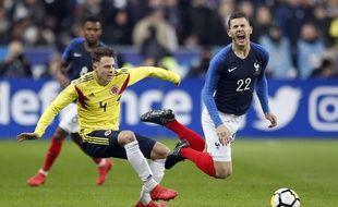 Lucas Hernandez face à la Colombie