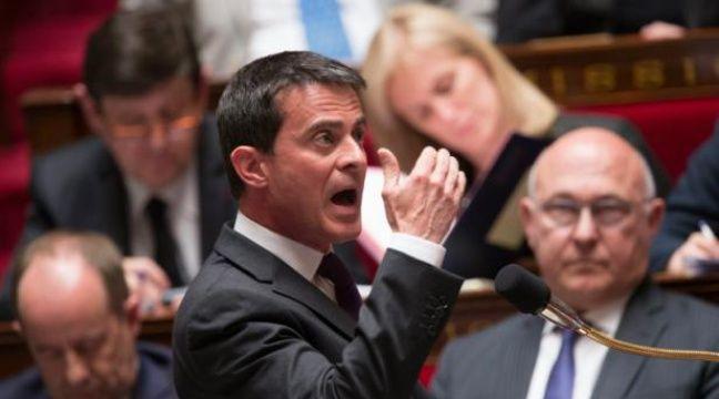 Le Premier ministre Manuel Valls, le 4 mai 2016 à l'Assemblée nationale à Paris – BERTRAND GUAY AFP