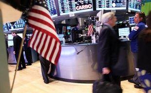 La Bourse de New York Stock le 6 septembre 2012 à New York