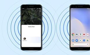 Google déploie sa nouvelle fonctionnalité de partage à proximité
