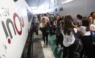 100.000 voyageurs étaient attendus hier à la gare Montparnasse.