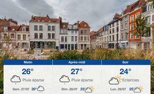 Météo Lille: Prévisions du vendredi 26 juillet 2019