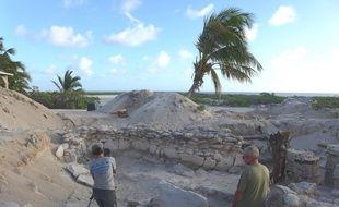 Campagne de fouilles archéologiques sur l'île Tromelin