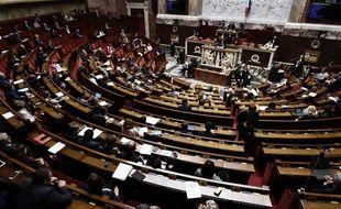 Les députés en pleine discussion sur la loi Travail, le 1er août 2017.